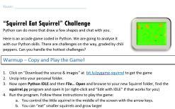 squirrel-worksheet
